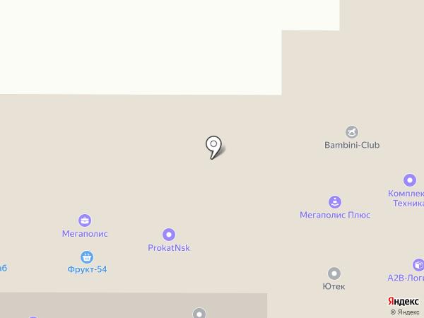 Краснообский на карте Краснообска