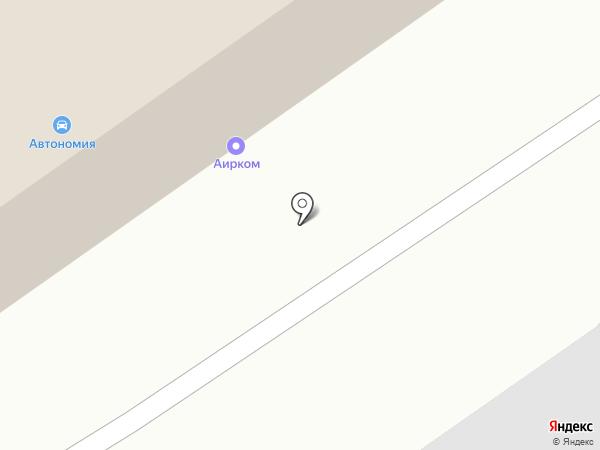 БазЭл на карте Новосибирска