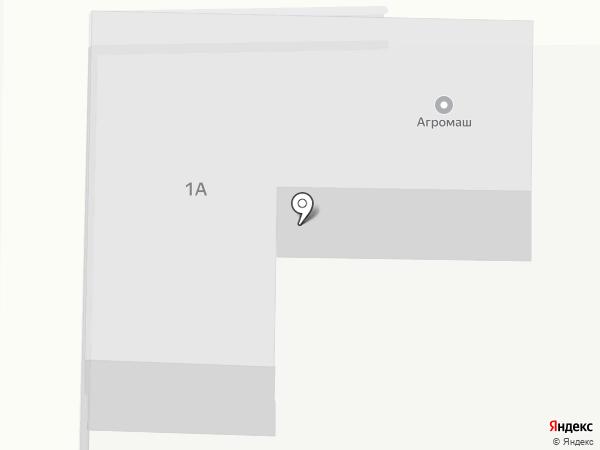 Агромаш на карте Краснообска