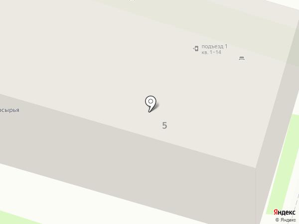 Аврора на карте Краснообска