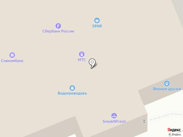 Салон оптики на карте Новосибирска