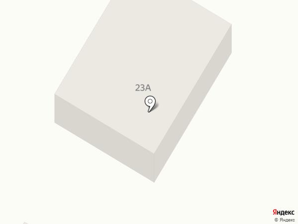 Продуктовый магазин на карте Первомайского