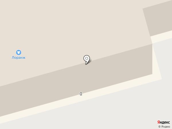 Магазин мебели на карте Новосибирска