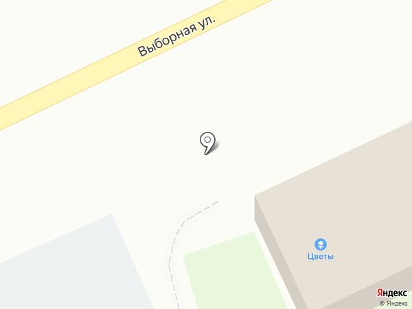ФАRШ на карте Новосибирска