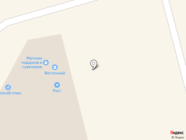 Магазин швейной фурнитуры на карте Новосибирска