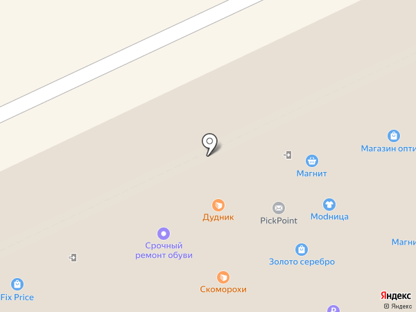 Адвокатский кабинет Баянова С.В. на карте Новосибирска
