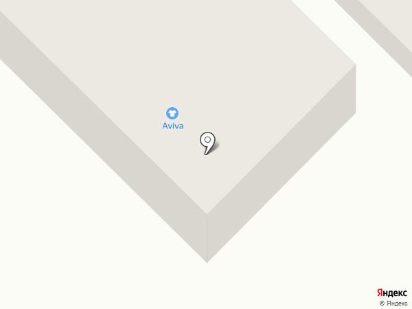 Aviva на карте Восхода