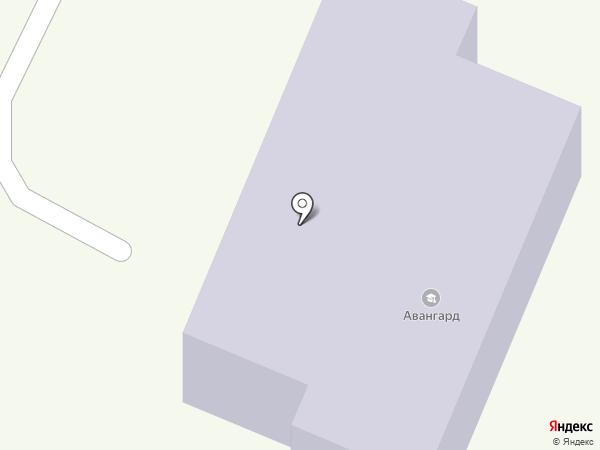 Авангард на карте Бердска