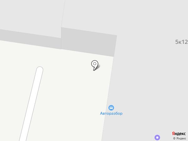 Автостекло Маяк на карте Бердска