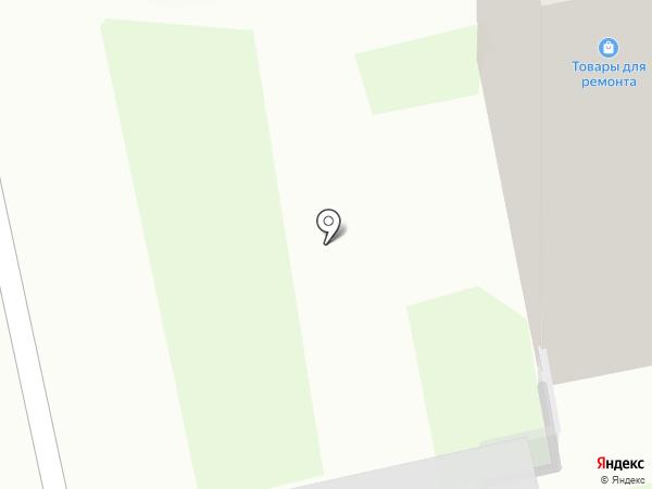 Подземная автостоянка на карте Новосибирска