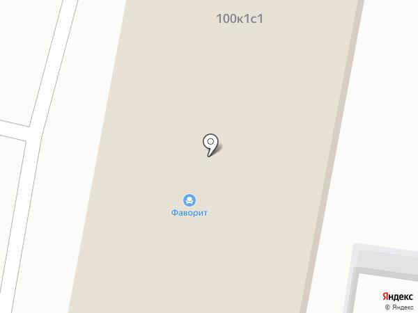 Фаворит на карте Бердска