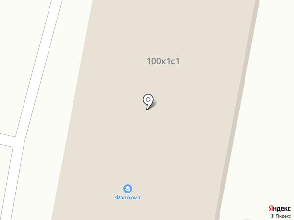 Огниво на карте Бердска