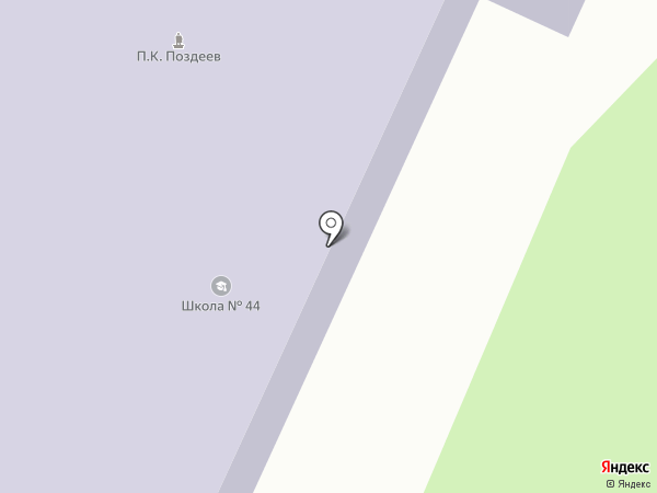 Каменская средняя школа №44 на карте Восхода