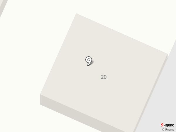 Айсберг на карте Восхода
