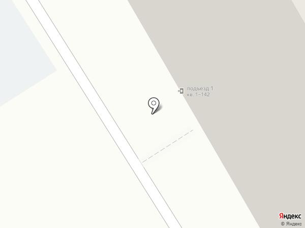 Дом на Лунной на карте Бердска