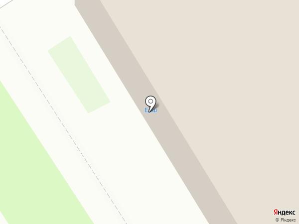 Ерш на карте Бердска