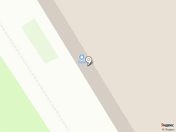 Алексеевские бани на карте Бердска