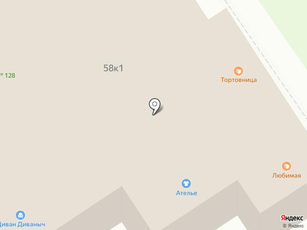 Мастер Торт на карте Бердска