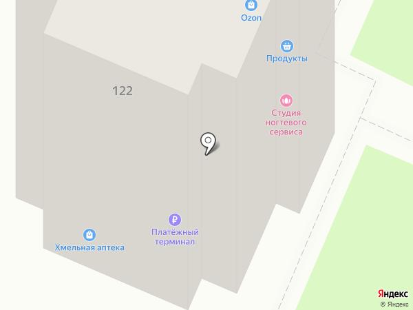 Пивное царство на карте Бердска