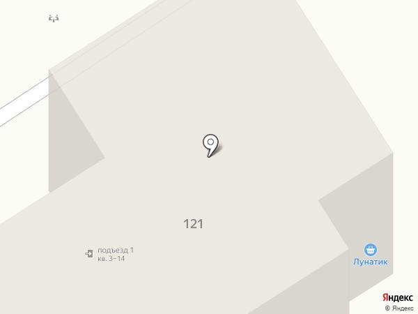 Радиодетали на карте Бердска