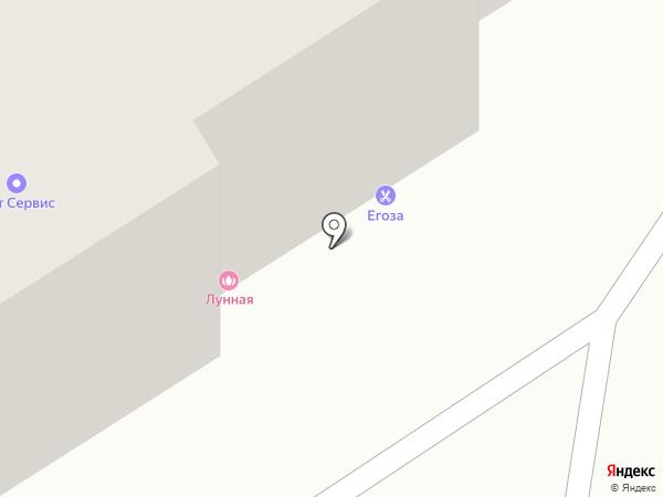 Милашка на карте Бердска