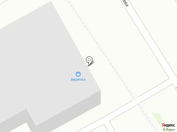 Березка на карте Бердска
