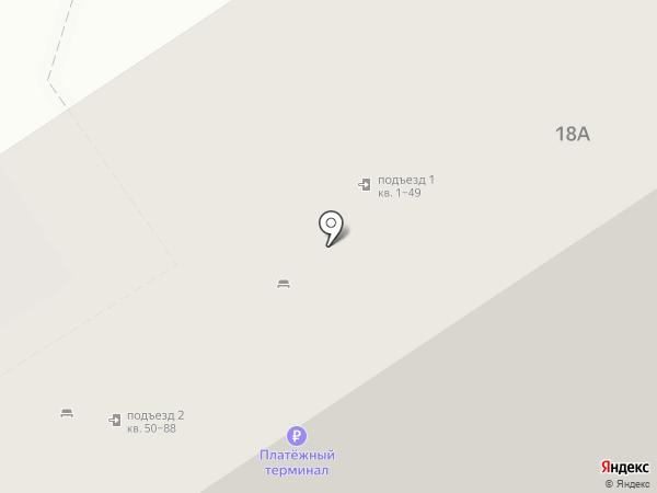 Нимфодора на карте Бердска