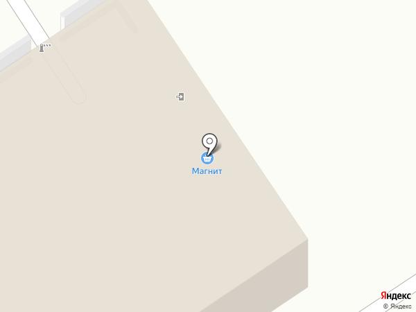 Магнит на карте Бердска
