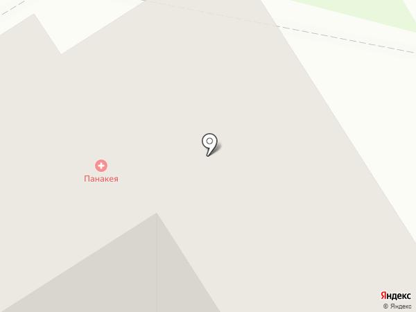 Медицинский центр Панакея на карте Бердска