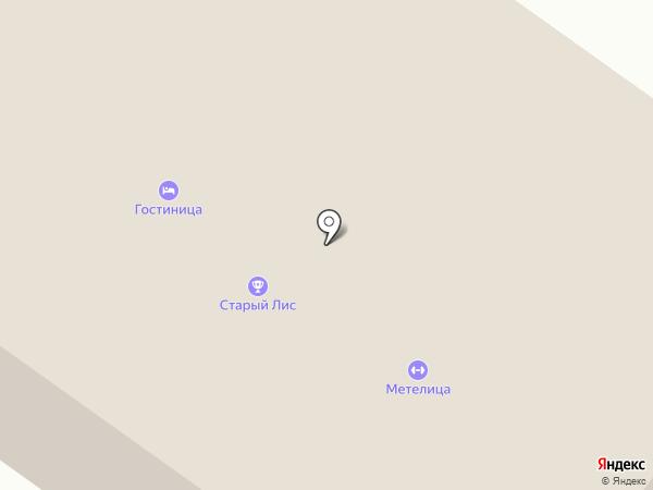 Старый Лис на карте Бердска