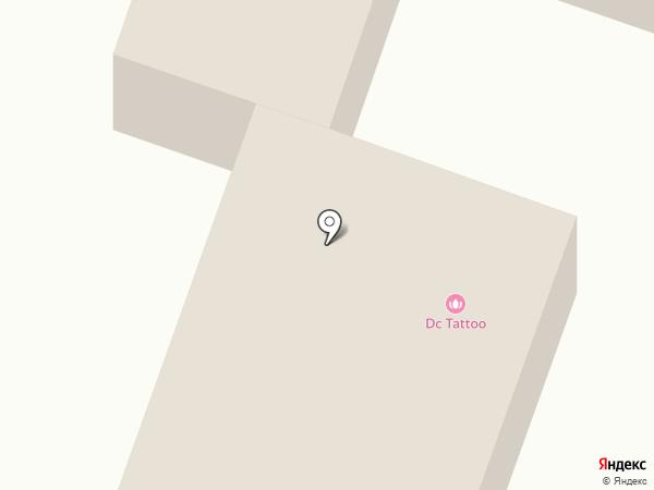 Дальян на карте Новосибирска