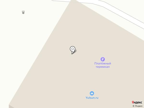 Роза Ветров на карте Бердска