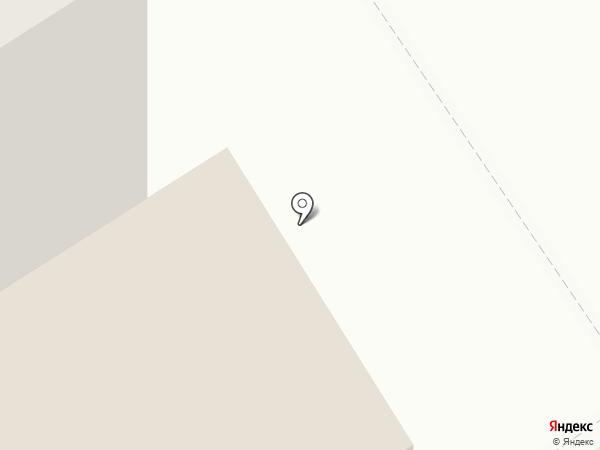 Киоск по продаже хлебобулочных изделий на карте Бердска