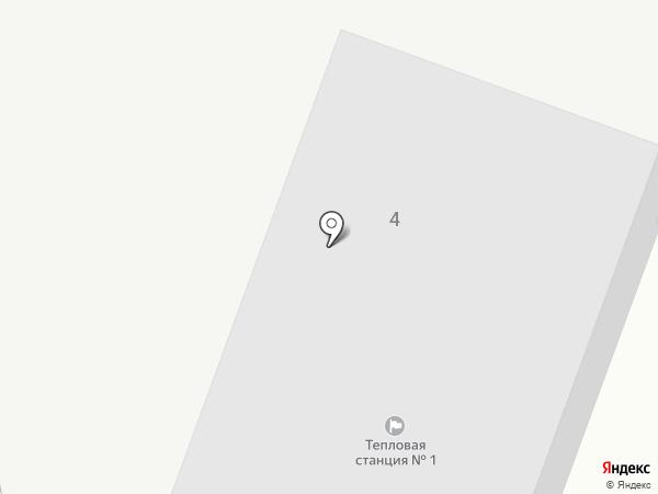 Пиковая котельная на карте Бердска