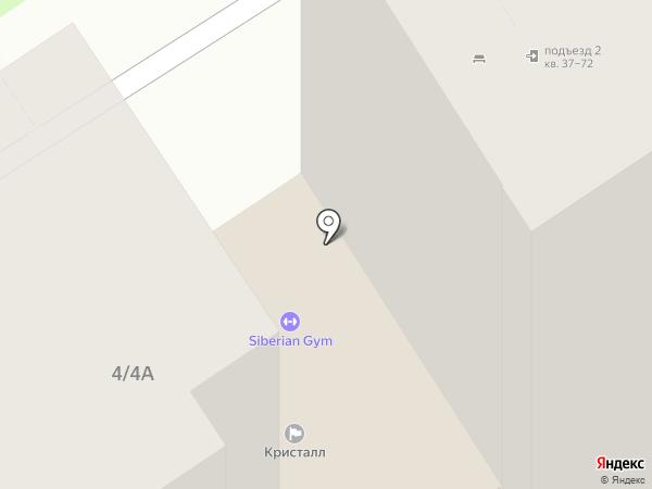 Бердская на карте Бердска