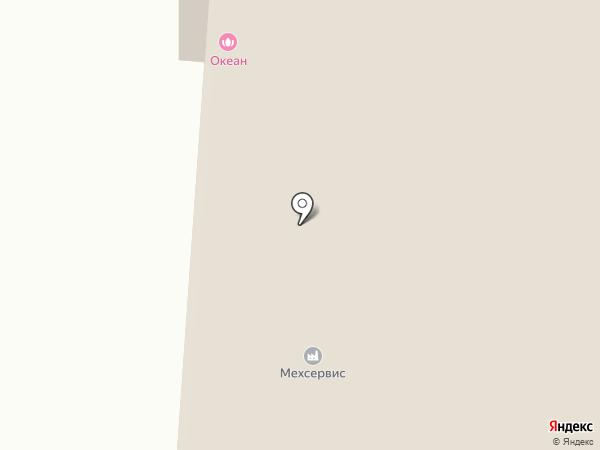 Вешер на карте Бердска