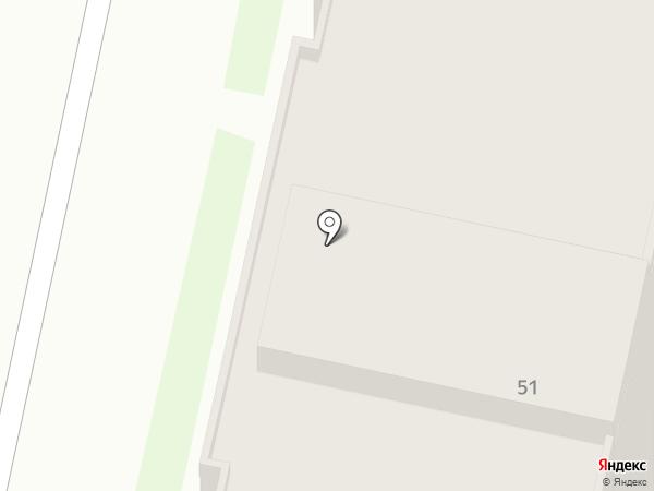 Белокаменный на карте Бердска