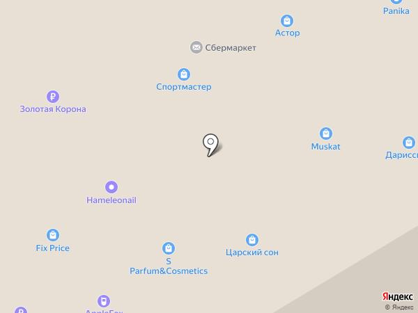 Царский сон на карте Бердска