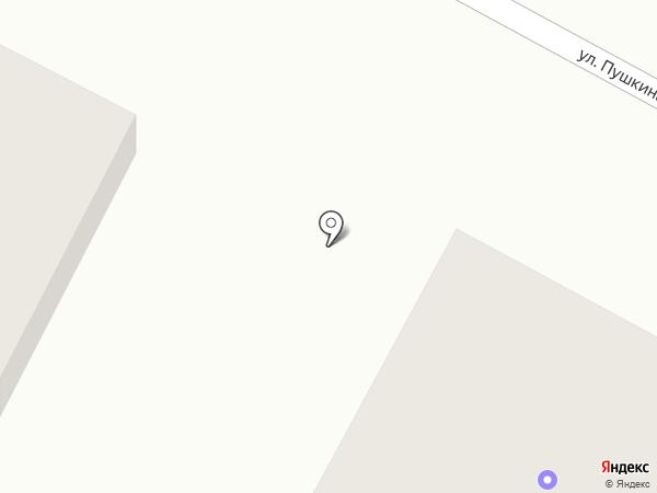 Ангел на карте Бердска