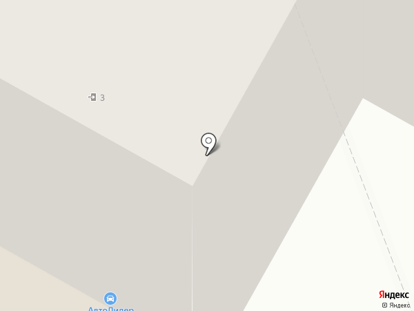 Галстук на карте Бердска