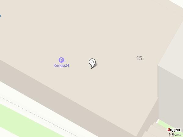 Fуксия на карте Бердска