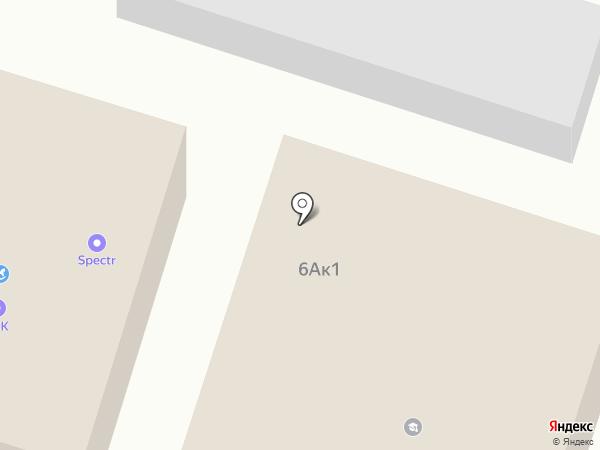 Автогранд на карте Новосибирска