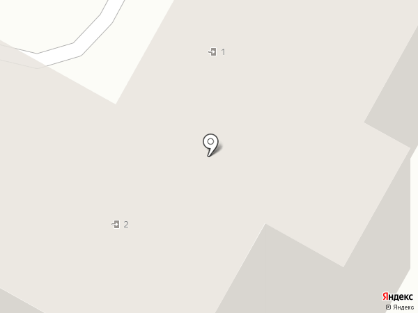 Облако волос на карте Бердска