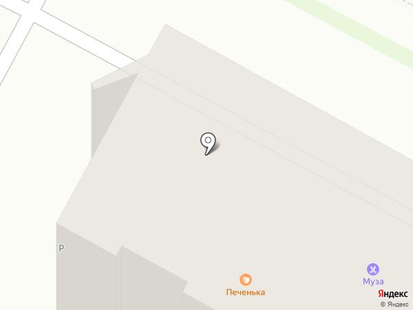 Джем на карте Бердска
