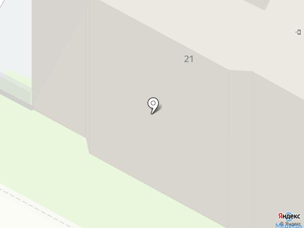 Антарес на карте Бердска