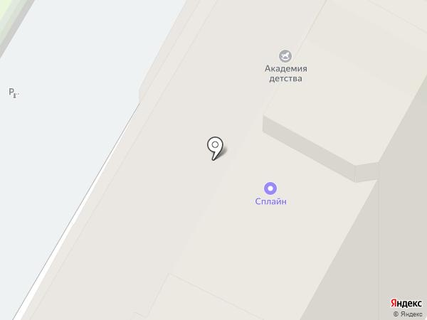 СПЛС на карте Бердска