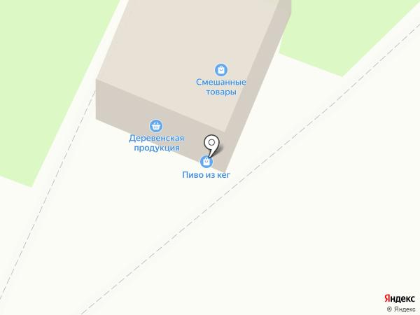 Мясной двор на карте Бердска