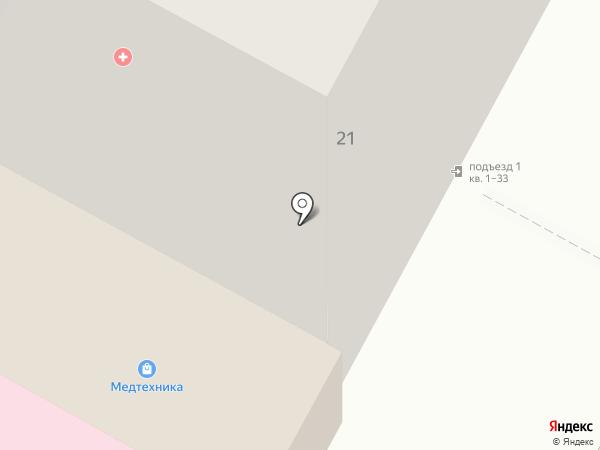 Бердская МЕДТЕХНИКА на карте Бердска