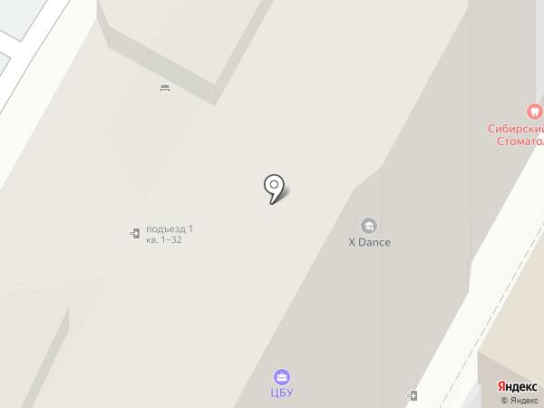 На Маркса, ТСЖ на карте Бердска