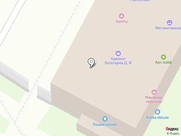 Мегаинтеркорп на карте Бердска